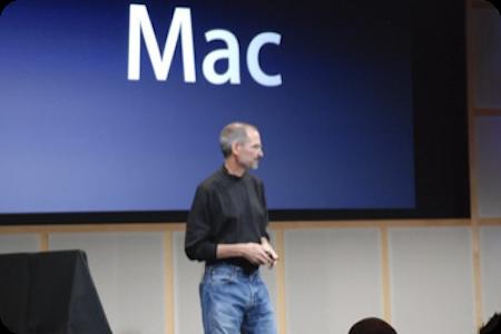 steve jobs keynote. 18h16 : Steve Jobs entre sur