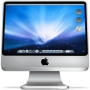 iMac logo on