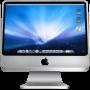 iMac logo on