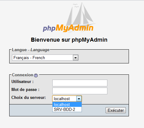 Login-PHPMYADMIN