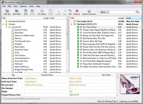 Music Brainz GUI